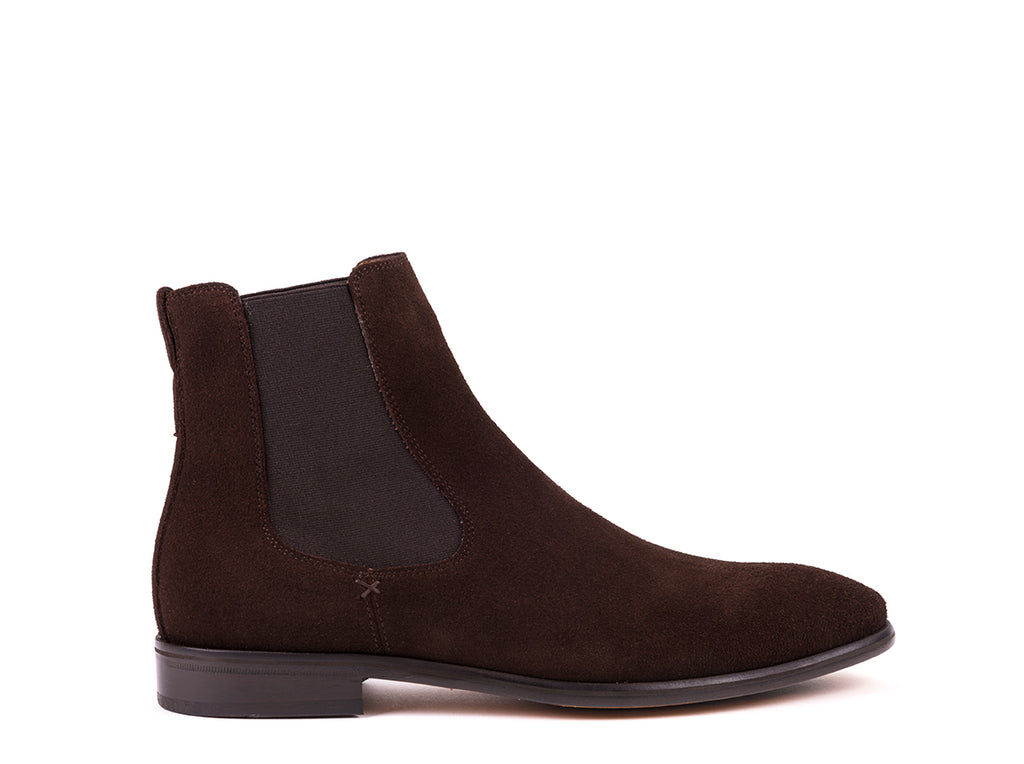Boots // Dark Brown Suede