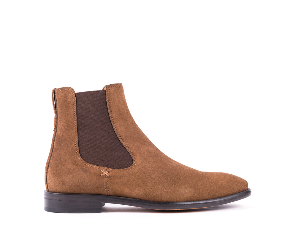 Boots // Brown Suede