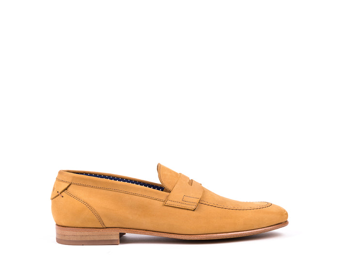 Penny Loafers // Camel Nobuck