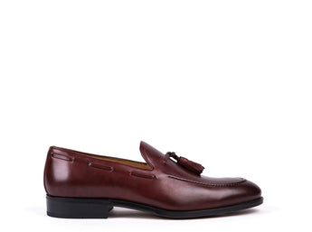 Loafers // Pele Bordeaux