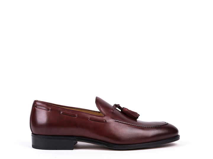 Tasseled Loafers // Bordeaux Leather