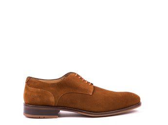 Derby  // Brown Suede