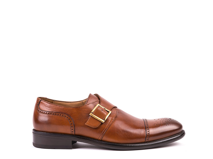 Monk Strap // Camel Leather