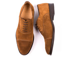 Oxford Cap Toe // Brown Suede