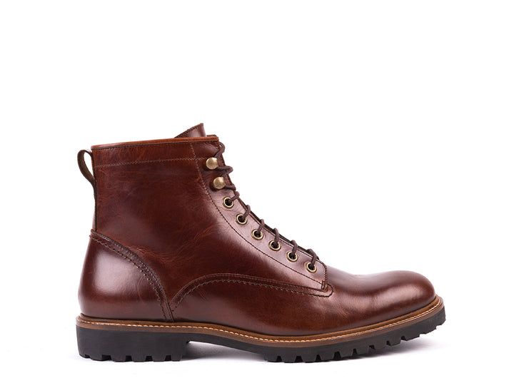 Lace Up Boots // Bordeaux Leather