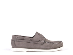 Boat Shoes // Grey Nobuck