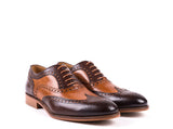 Brogue  // Camel and Brown Leather