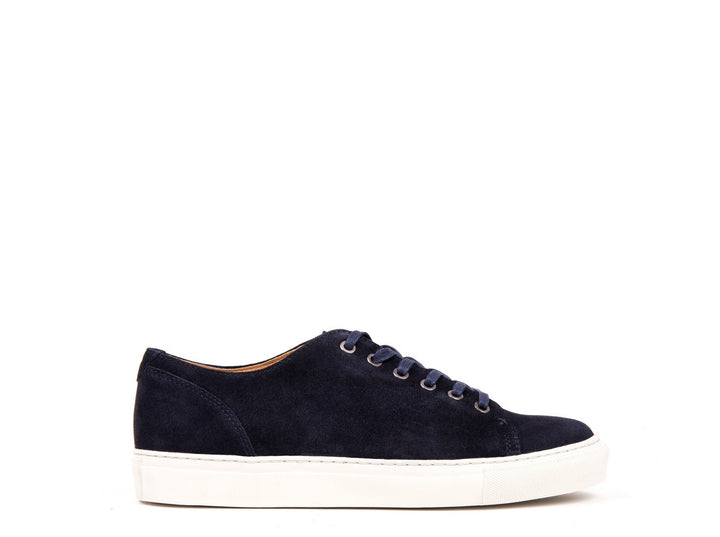 Sneakers // Navy Blue Suede