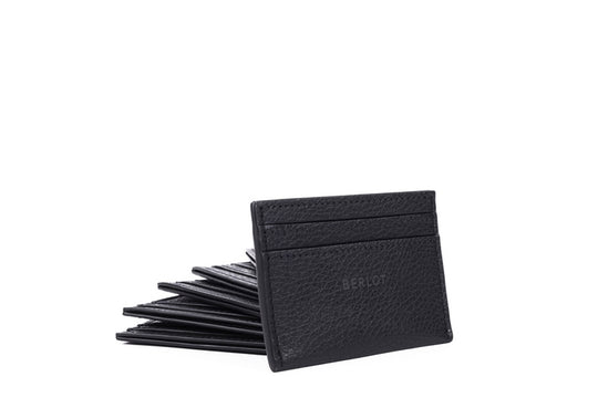 Card Holder // Black Leather