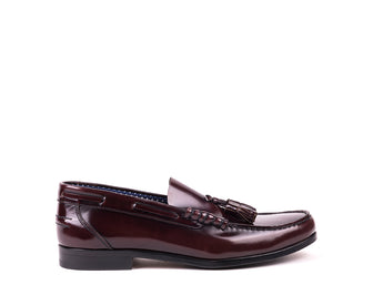 Mocassins // Bordeaux Polished Leather