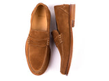 Penny Loafers // Brown Suede