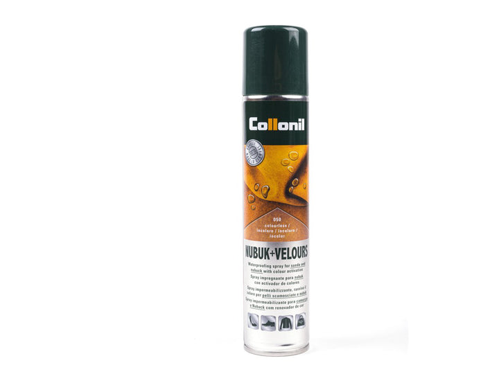 Waterproofing spray for suede and nubuck