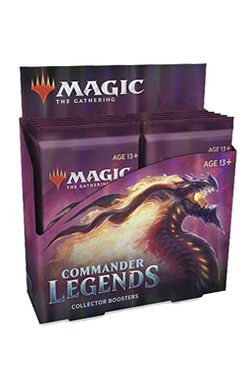 Commander Legends Collector Booster Box - Pre-order for 20 November 2020
