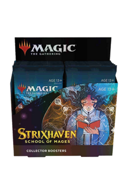 Strixhaven: School of Mages English Collector Booster Box