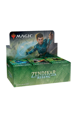 Zendikar Rising Draft Booster Box - Pre-order for 25 September 2020