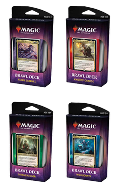 Full Set of 4 Throne of Eldraine Brawl Decks