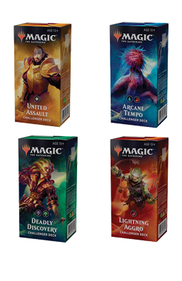 Full set of 4 Challenger Decks 2019