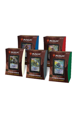 Full set of 5 Strixhaven: School of Mages Commander 2021 Decks