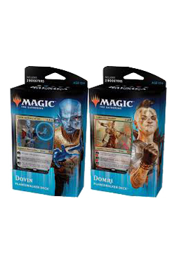 Set of 2 Ravnica Allegiance Planeswalker Decks - Dovin and Domri
