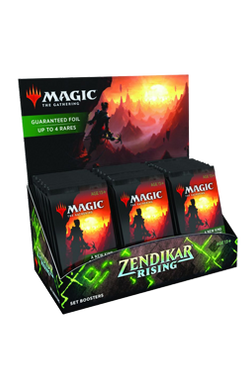 Zendikar Rising Set Booster Box - Pre-order for 25 September 2020