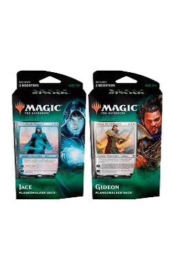 Set of 2 War of the Spark Planeswalker Decks - Gideon and Jace