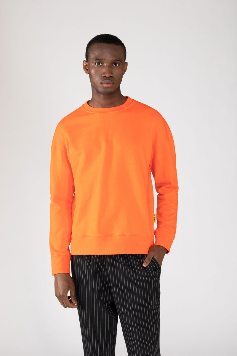 """CLASSIC"" ORANGE SWEATSHIRT"