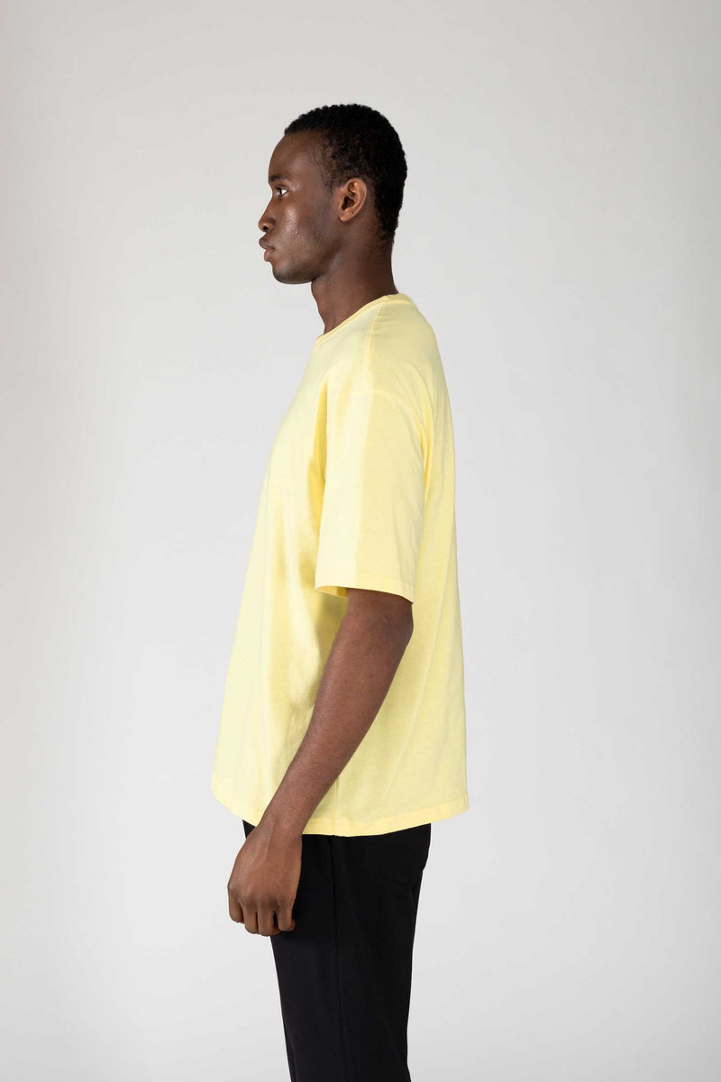 """CLASSIC"" LOOSE YELLOW T-SHIRT"