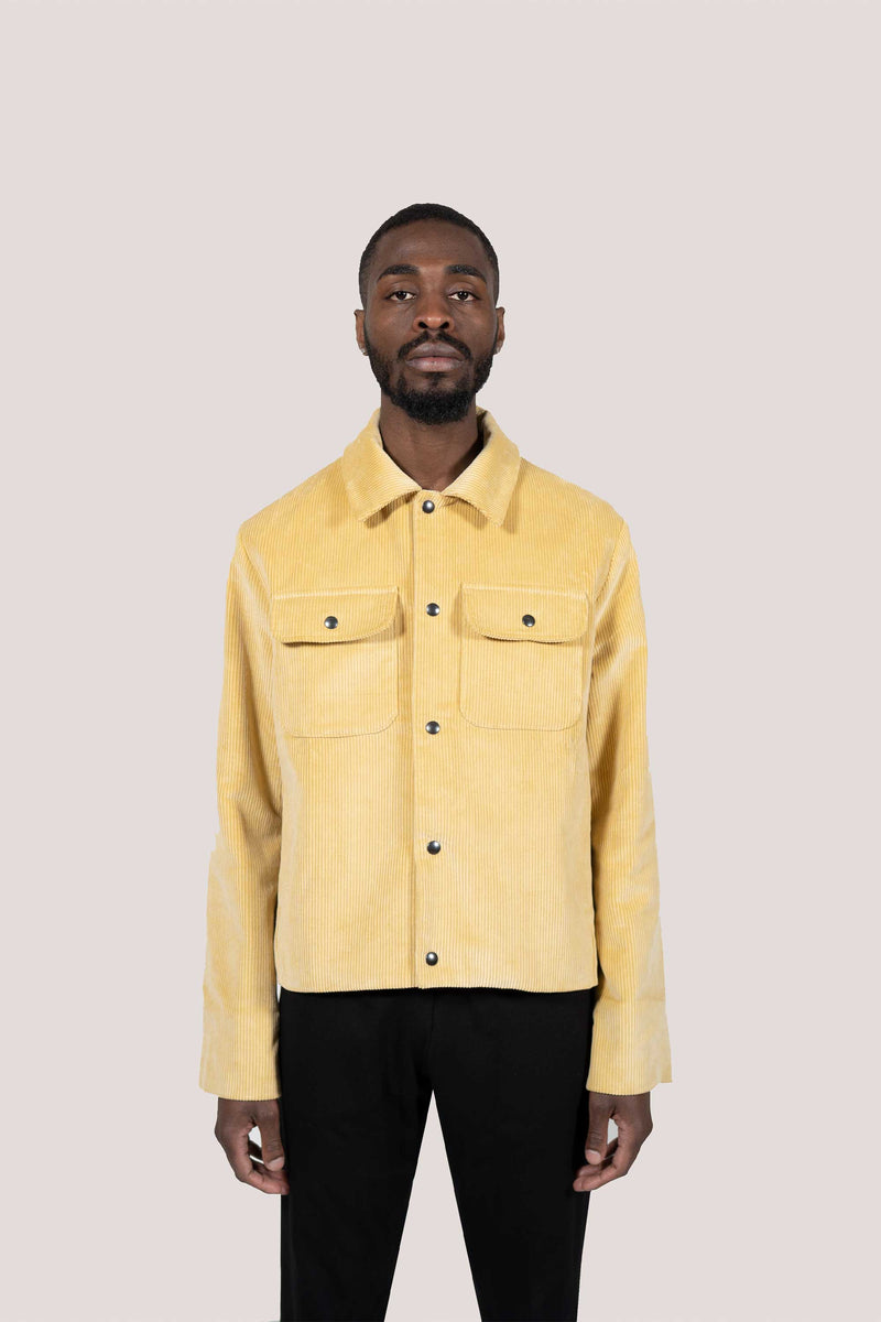 """VINTAGE"" COTTON CORDUROY JACKET"