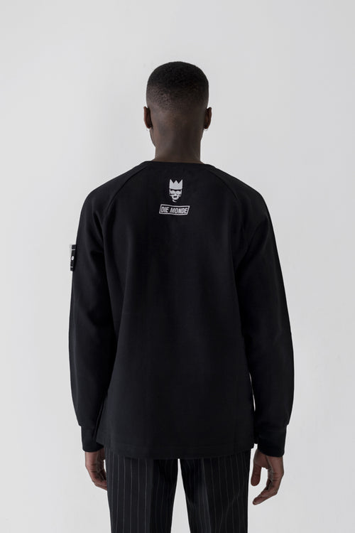 """Save The Youth"" black Sweatshirt"