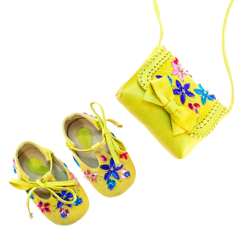 Vibys-Baby-Girl-Shoes-and-Mini-Bag-Matching-Accessories-Set-Daylily