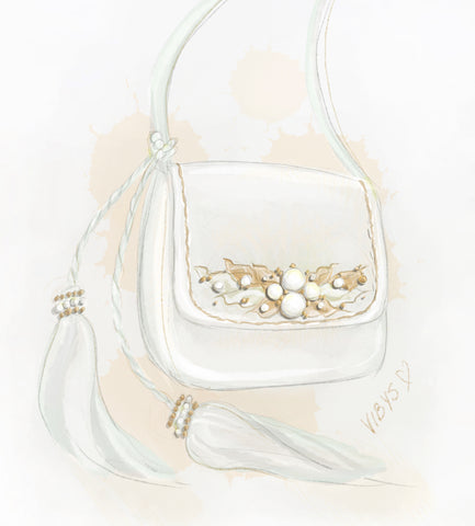 Vibys-Blog-From-Shoe-Design-Sketch-to-Finished-Mini-Bag-Sun-Glow-Illustration