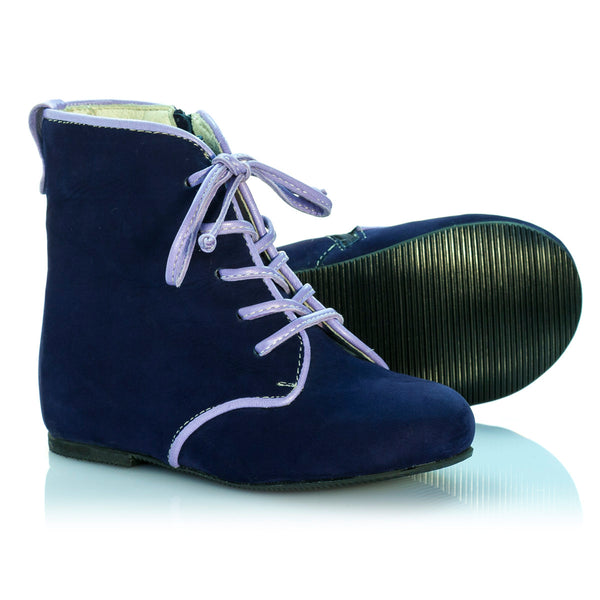 Vibys-Baby-Shoes-Dewberry-Blue-sole-view