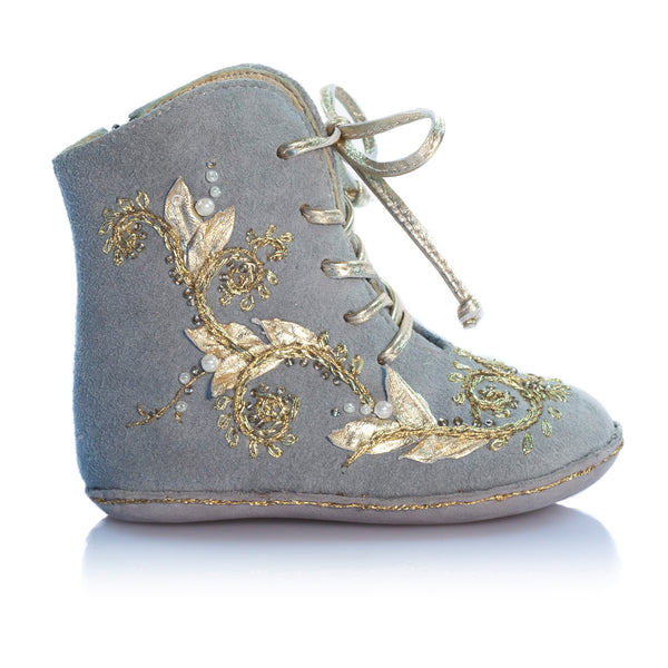 Vibys-Baby-Shoes-Fleur-Oceane-Gray-side-view