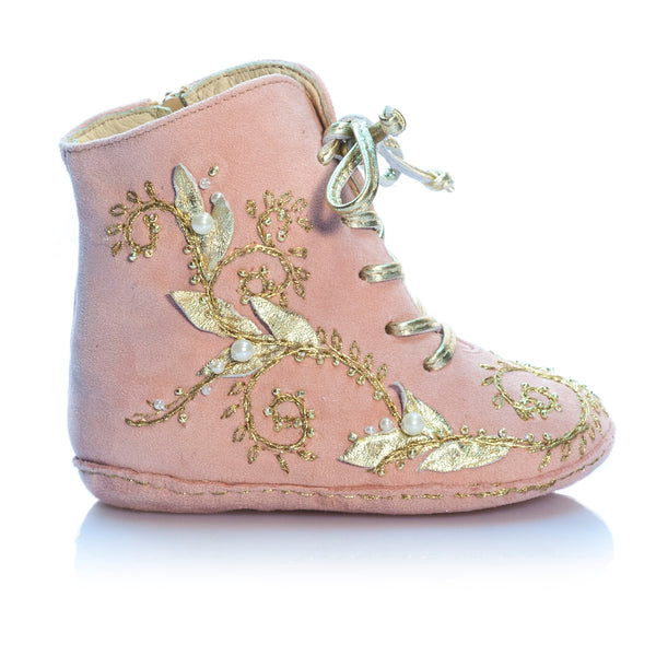 Fleur Océane - Pink - Vibys baby shoes