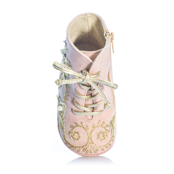 Fleur Océane - Pink - Vibys baby shoes top