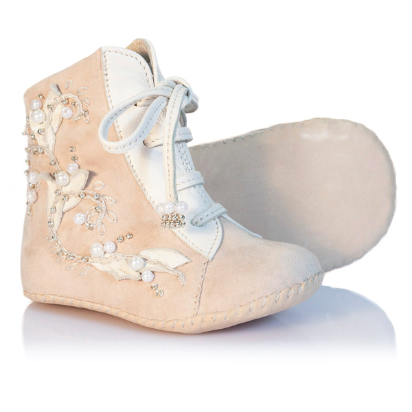 Vibys Baby Shoes Porcelain Ivy sole