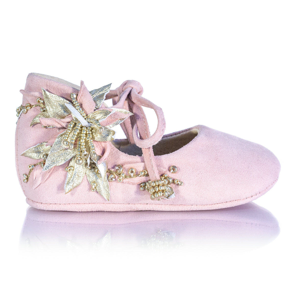 Vibys-Baby-Shoes-Water-Lily-Pink-side-view