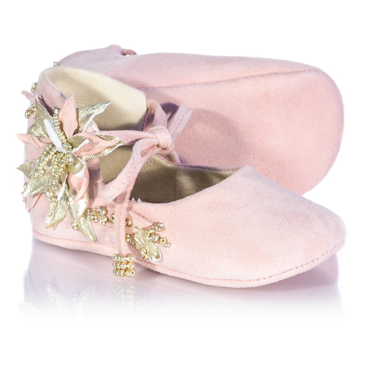 Vibys-Baby-Shoes-Water-Lily-Pink-sole-view