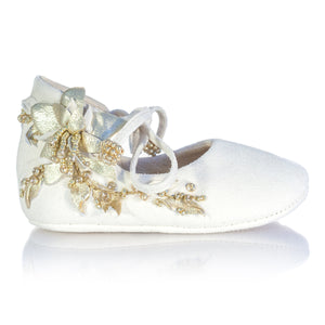 Vibys-Baby-Shoes-Water-Lily-White-side-view