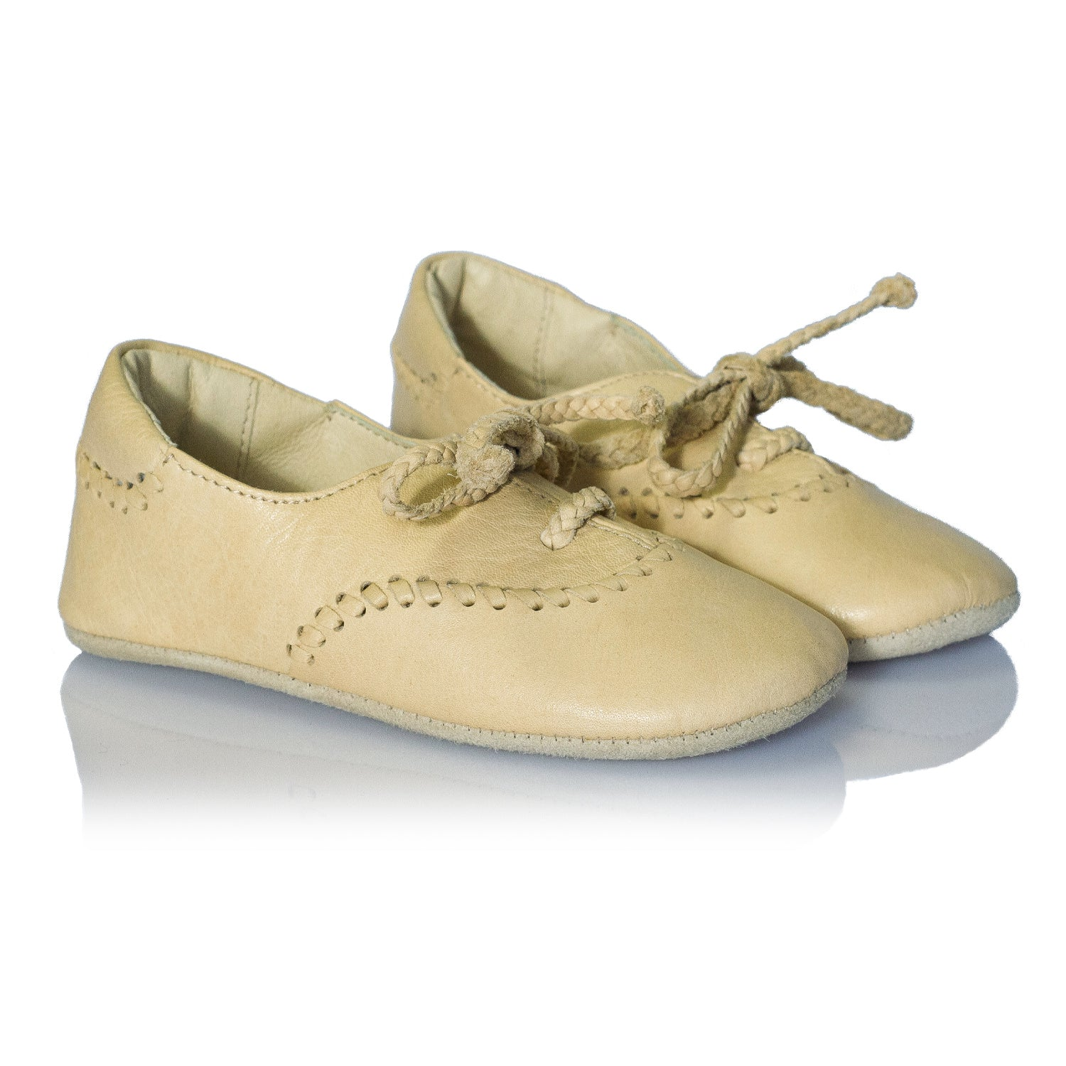 Vibys-Soft-Leather-Baby-Oxford-flats-Leslie-pair-view