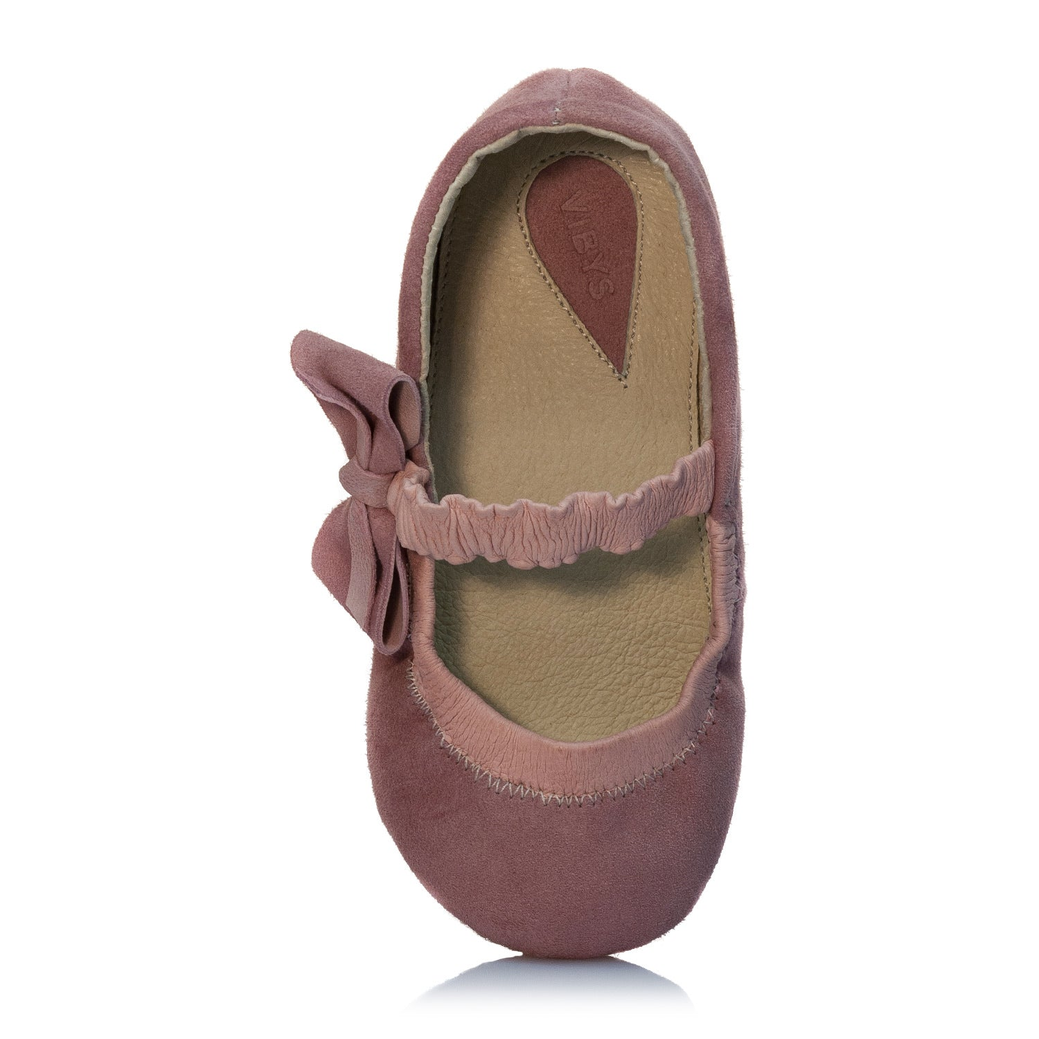 Vibys Barefoot Ballerina Shoes - Kiki Ballerina - top view