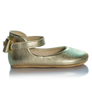 Vibys-Golden-Leather-Girls-Ballet-Flats-Shoes-Daphne-Gold-pair-view
