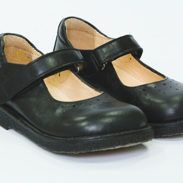 Angulus mary jane girls school shoes