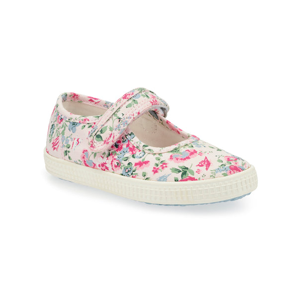 Posy Canvas Shoes