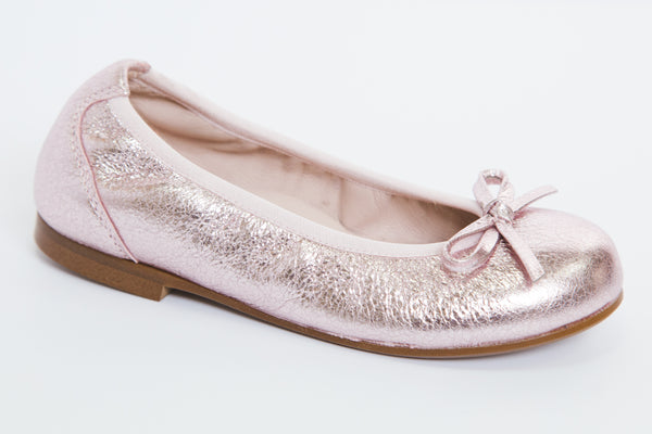 Beberlis Vulcano pink metallic Ballet pump Shoes