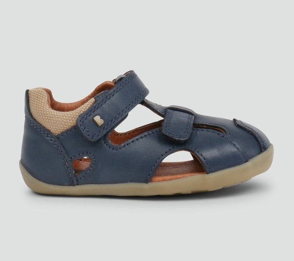 Bobux Chase navy sandals