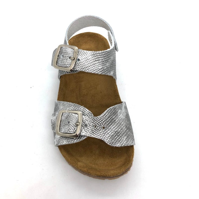 Bellamy 17395003-lucie Girls Silver Sandals