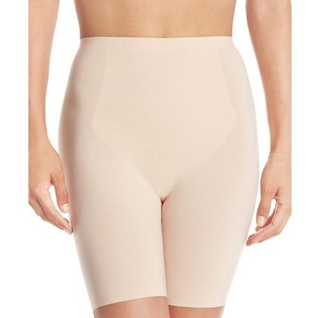Microfibre invisible control short [Beige] - The Pantry Underwear
