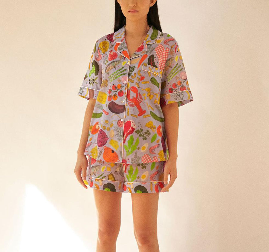 Sous chef short cotton pyjamas Sleep Karen Mabon