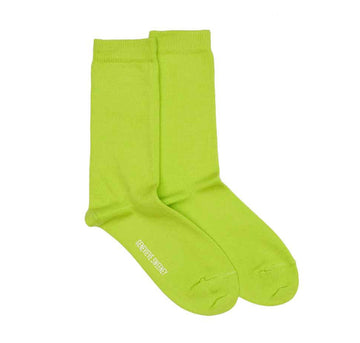 Modern cotton sock [Kiwi Green] Accessories Genevieve Sweeney